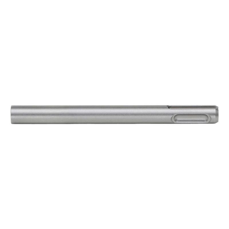 Maschinenaufnahme SDS-Plus Aufnahmeschaft, M6  SDS-Maschinenaufnahme mit Anschlussgewinde M6 für die Beton-Reinigungsbürste und Mauerwerk-Reinigungsbürste.