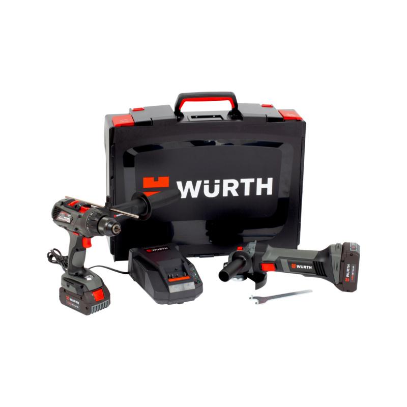 Kit di utensili a batteria  BS 18-A EC POWER/EWS 18-A 125mm - 1