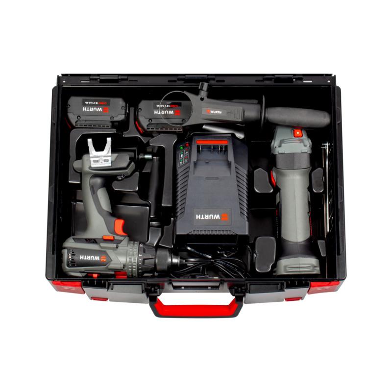 Kit di utensili a batteria  BS 18-A EC POWER/EWS 18-A 125mm - 0