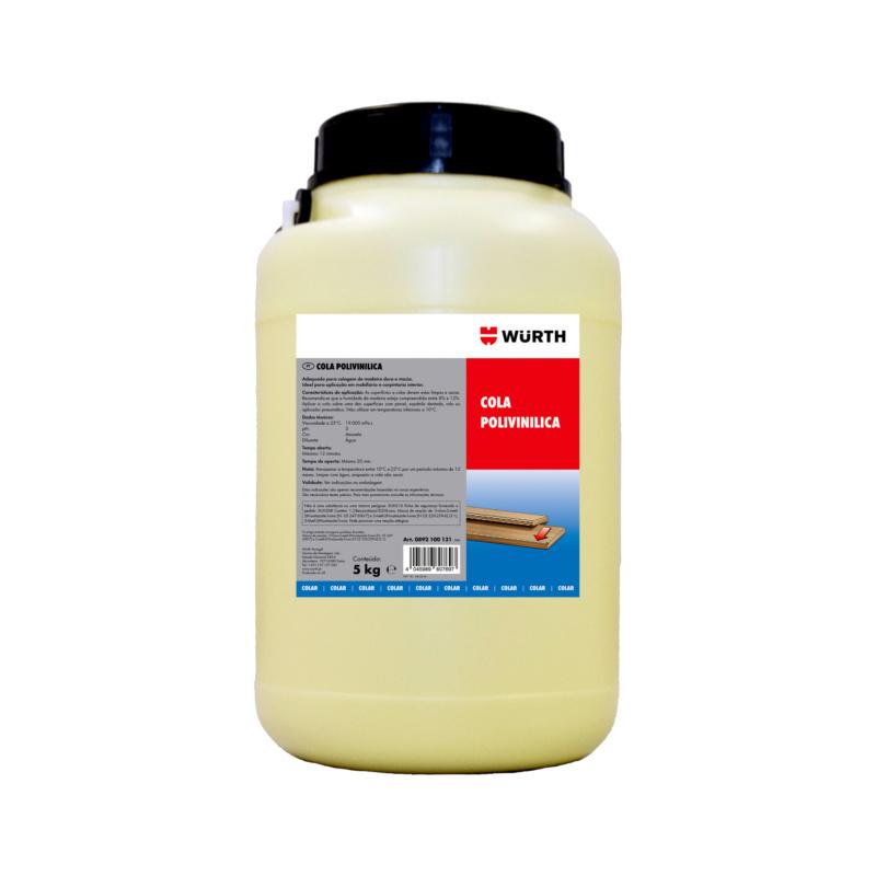 Cola polivinílica - COLA POLIVINILICA 5KG