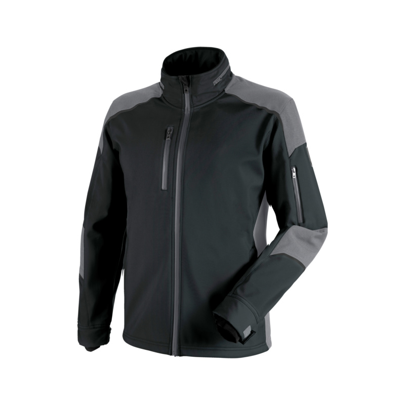 Cetus Softshelljacke, Anthrazit /Grau, Grau/Anthrazit Diese Jacke besteht aus elastischem Softshellmaterial. Sie ist winddicht und atmungsaktiv.