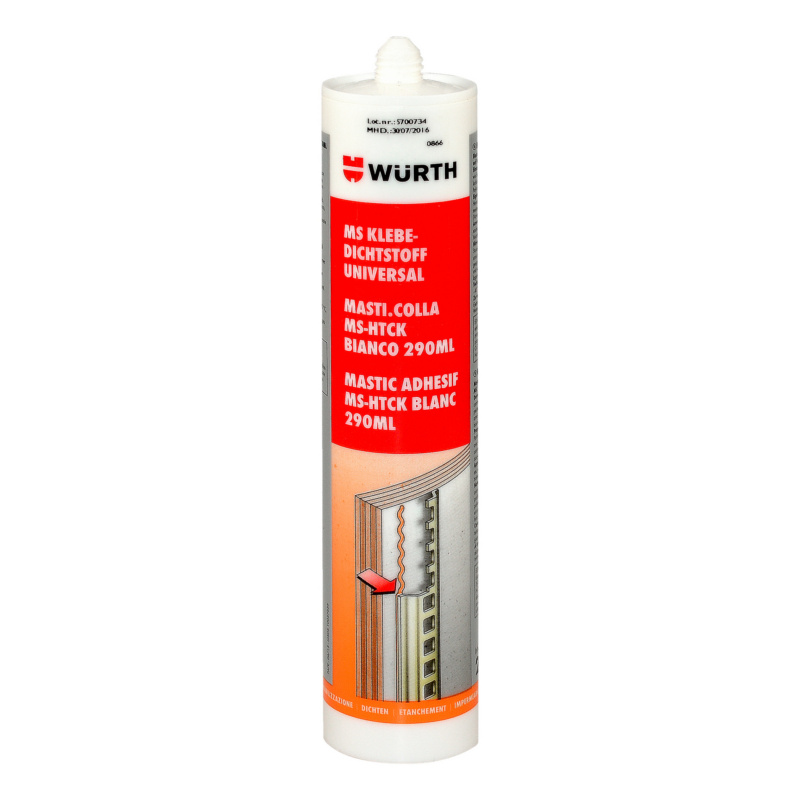 MS Hightack structural adhesive - STRUCADH-(MS-HIGHTACK)-WHITE-290ML