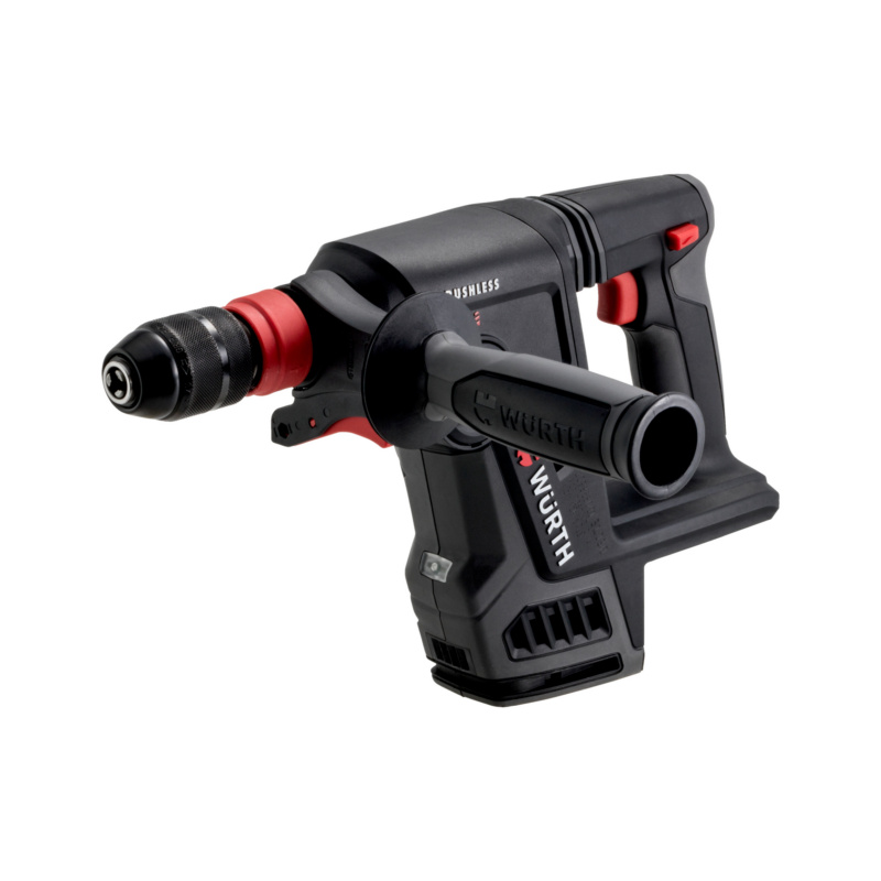 Akku-Bohrhammer ABH 18 Compact M-CUBE?  Kompakter, kraftvoller, bürstenloser Akku-Bohrhammer für mittelschwere Bohr- und leichte Mei?elarbeiten.