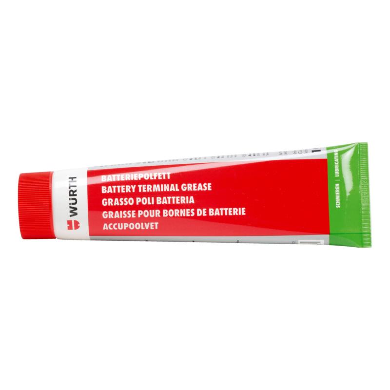 Batteriepolfett - BATTPOLFET-TUBE-ROT-100ML