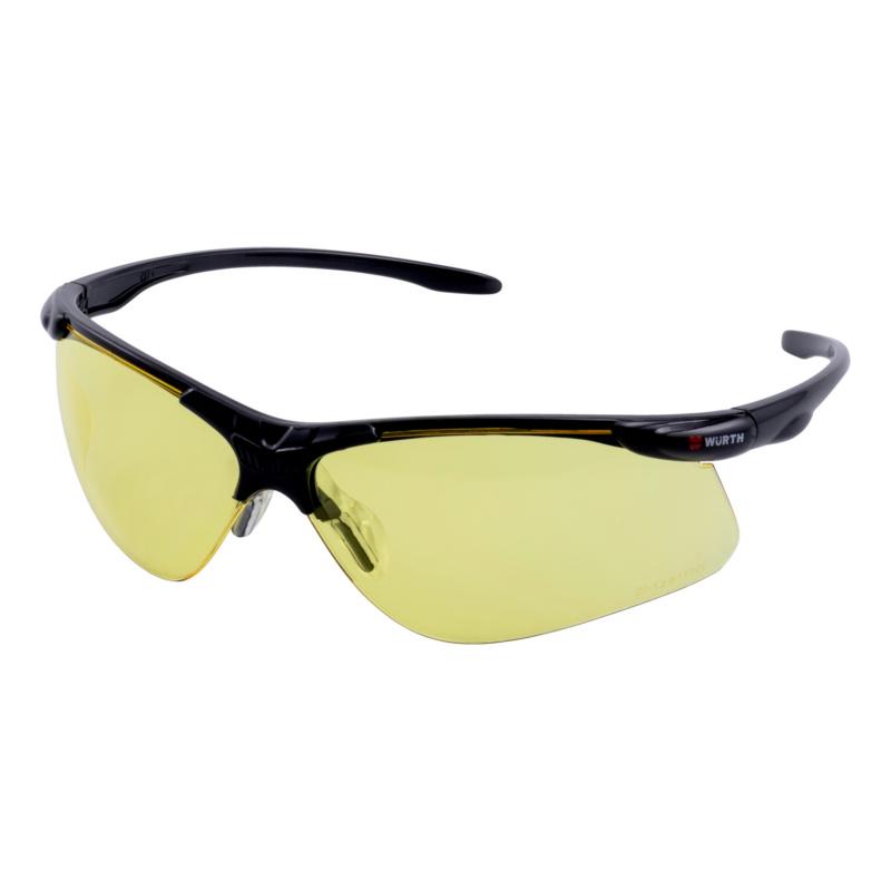 Bügelbrille Askella®, gelb  Sportlicher Augenschutz mit hohem Tragekomfort.
