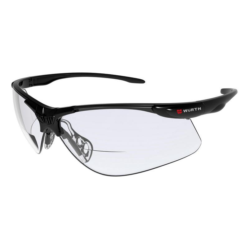 Schutzbrille Askella®Korrektur, 1,5 dpt., 2 dpt., 2,5 dpt. Dieses sportliche Modell kombiniert Schutzbrille mit Korrekturstärke für den Lesebereich.