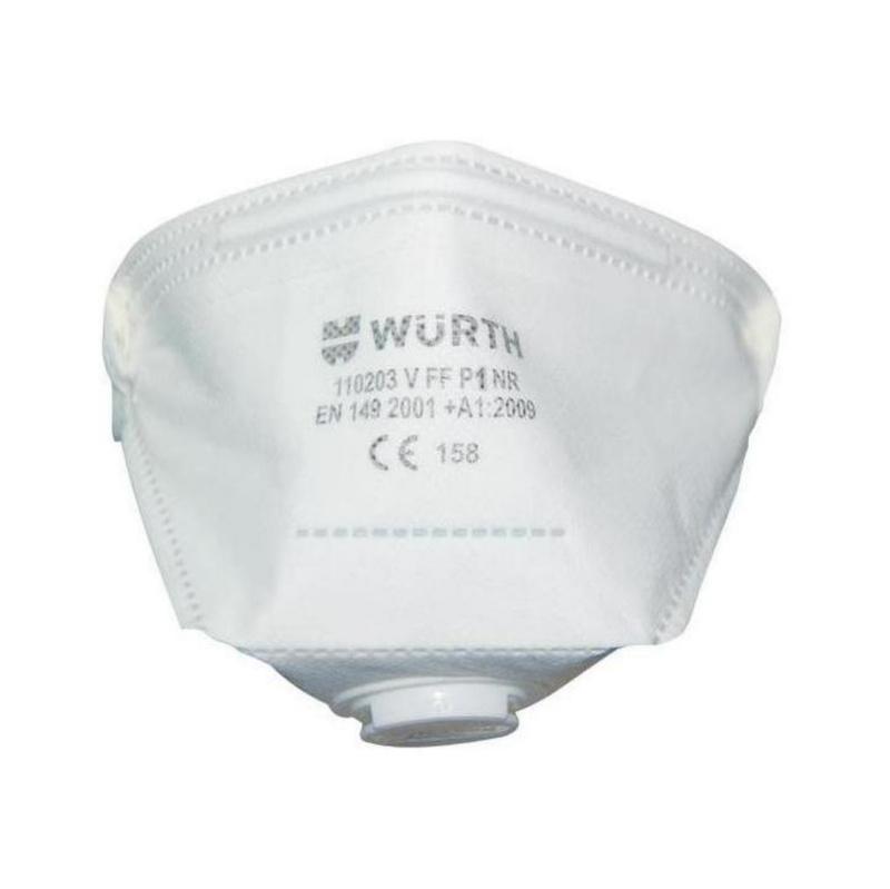 P2 katlanabilir solunum maskesi Ventilli - P2 KATLANABİLİR SOLUNUM MASKESİ VENTİLLİ
