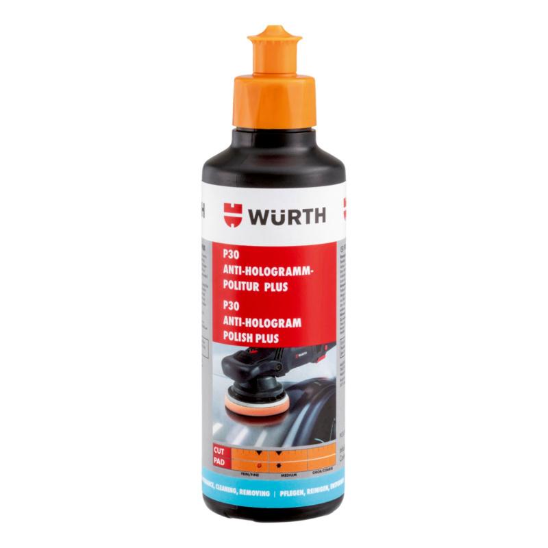 Antihologramm-Politur P30 Plus, 250g Hochglanz-Finish-Politur zur dauerhaften Beseitigung von Schleiern und Hologrammen auf dunklen Fahrzeuglacken.