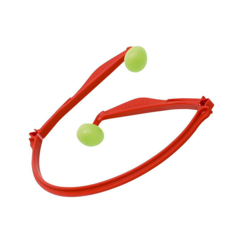 Bügelgehörschutz faltbar x-300  Praktischer und bequemer Gehörschutz, den man in jeder Hemd- oder Jackentasche verstauen und mitnehmen kann.