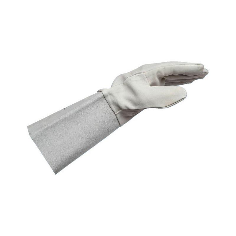 Zváracie rukavice z usne napa - 0