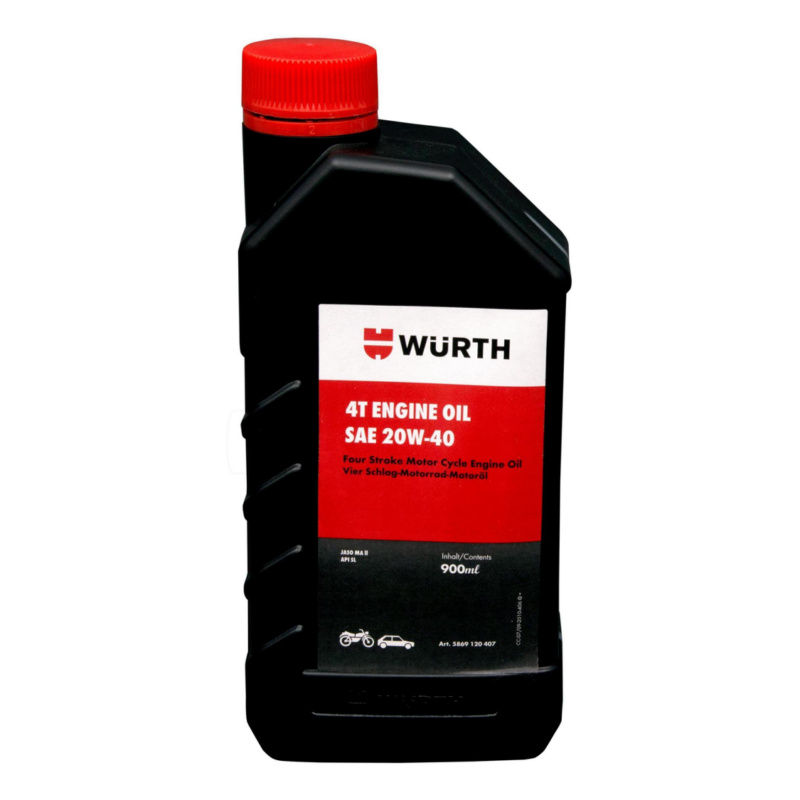 Engine Oil 20W-40 Jaso MAII Four Stroke Mofor Cycle Engine Oil - 0