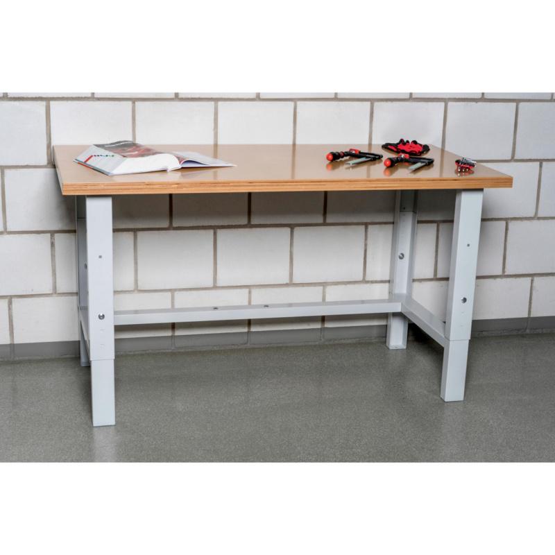 Table de travail r glable en hauteur type wt 0957506201 w rth - Table de travail reglable en hauteur ...