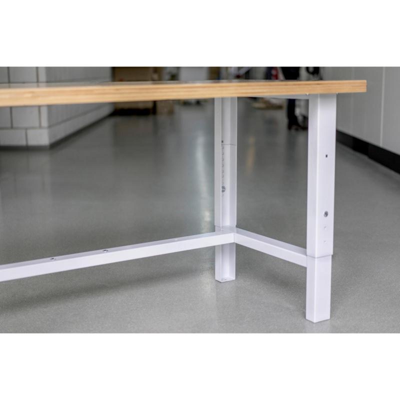 Table de travail r glable en hauteur type wt 0957506201 - Table de travail reglable en hauteur ...