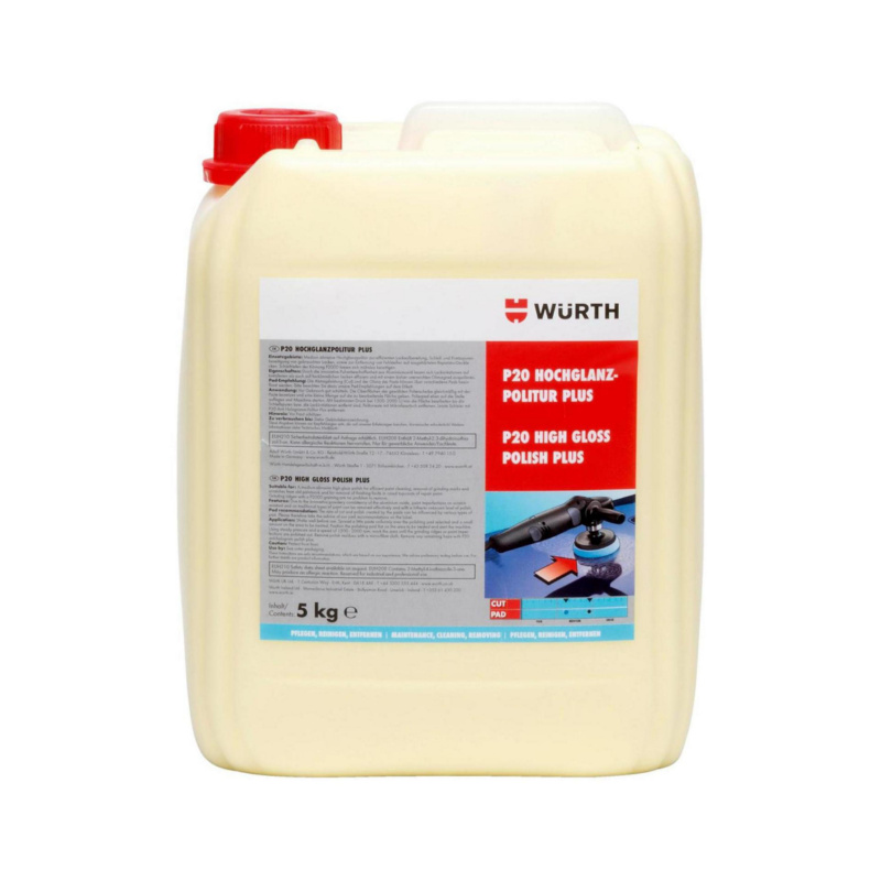 Hochglanzpolitur P20 Plus  Medium-abrasive Hochglanzpolitur zur effizienten Lackaufbereitung.