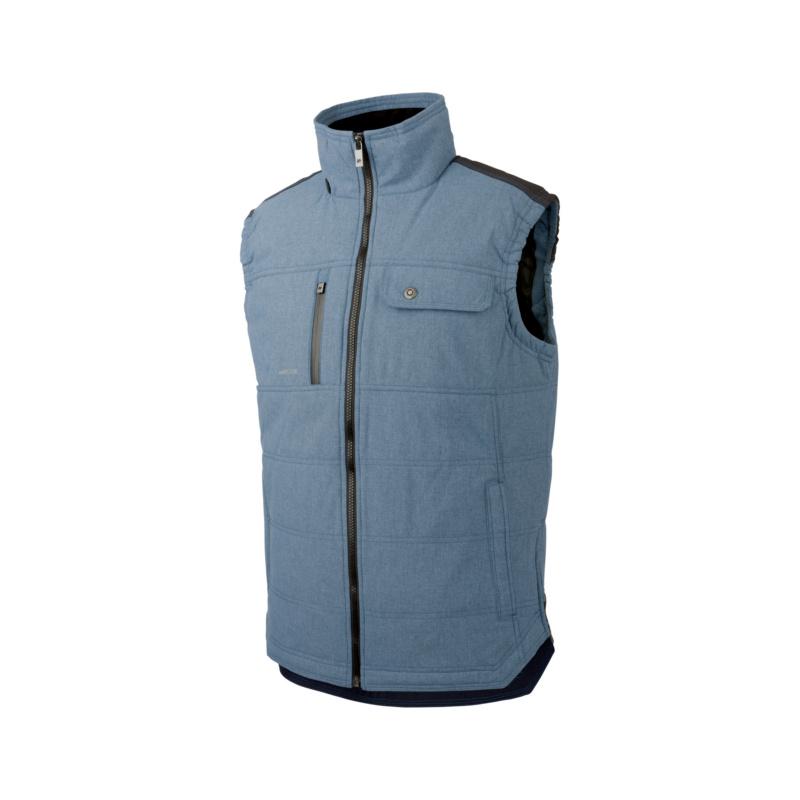 Nature Weste granitgrau & schieferblau  Die multifunktionelle Weste eignet sich für jeden Einsatz und lässt sich ideal mit einem Hemd, Pullover oder auch Shirt kombinieren.