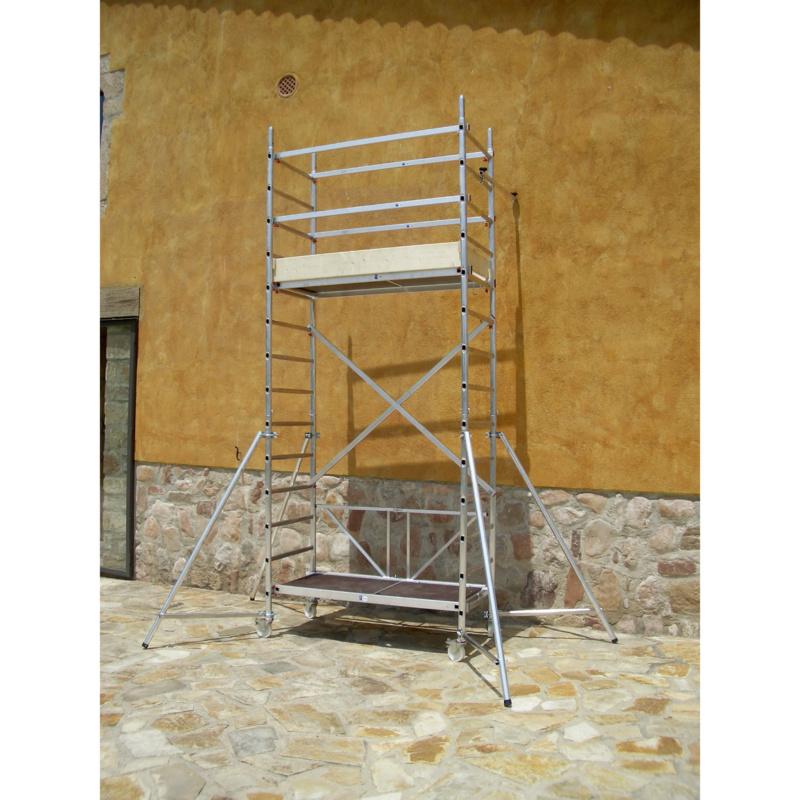 echafaudage roulant petit plateau module 2 0962940603. Black Bedroom Furniture Sets. Home Design Ideas