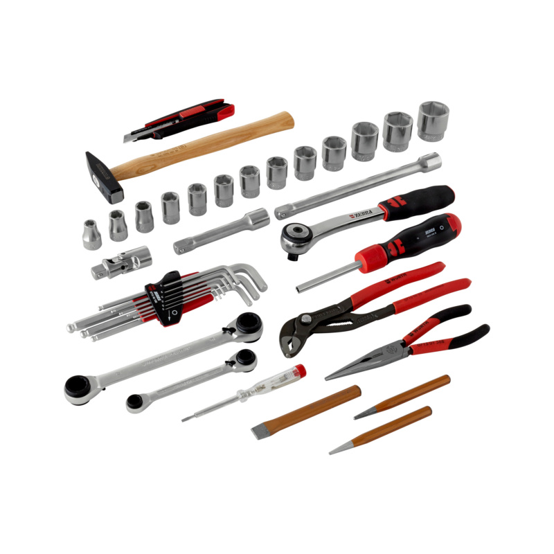 Assortiment d'outils - COFFRET ORSY 8.4.1 AVEC 37 OUTILS