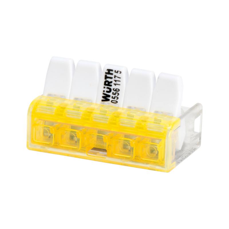 Connecteur Mini pour fil souple/rigide ELMO<SUP>®</SUP> Compact plus - CONN. MINI SPLE/RGDE 2E.KOMPAKT PLUS