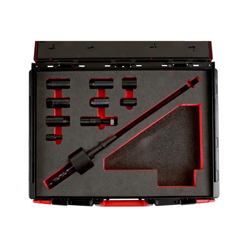Puller set for diesel injection nozzles - SPECTL-ENG-UNI-EXTRCTR-KIT-INJ-10PCS