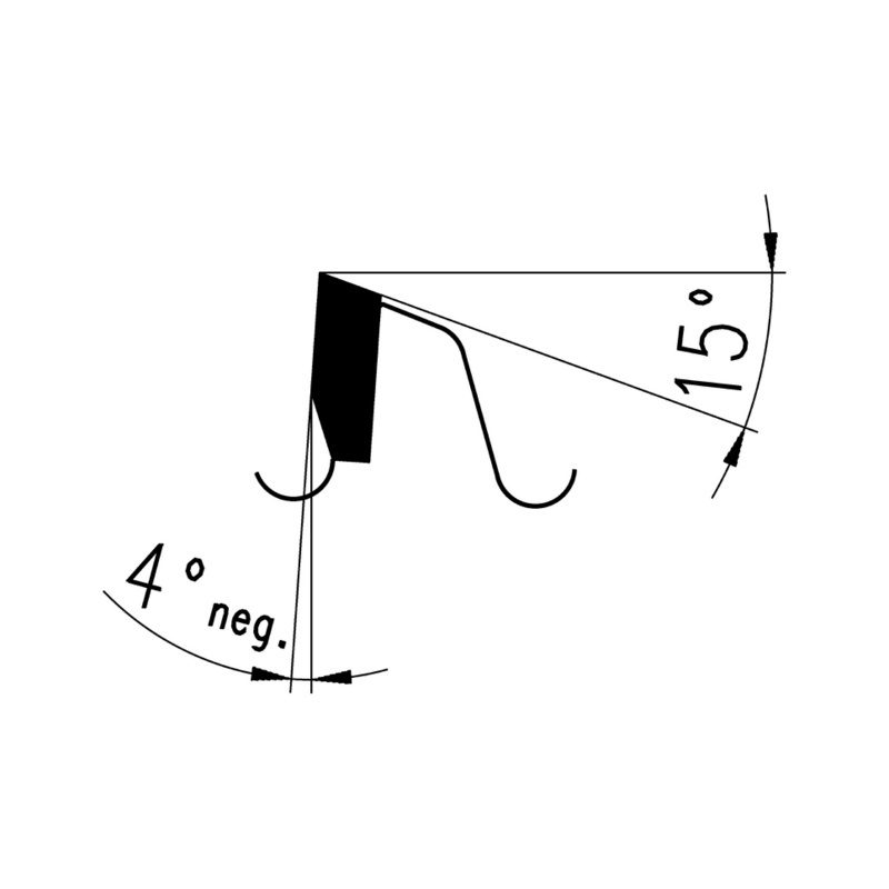 Disco de corte especial para corte final - DISCO MELAMINA 300X3,2X30 Z.96 TT/FT