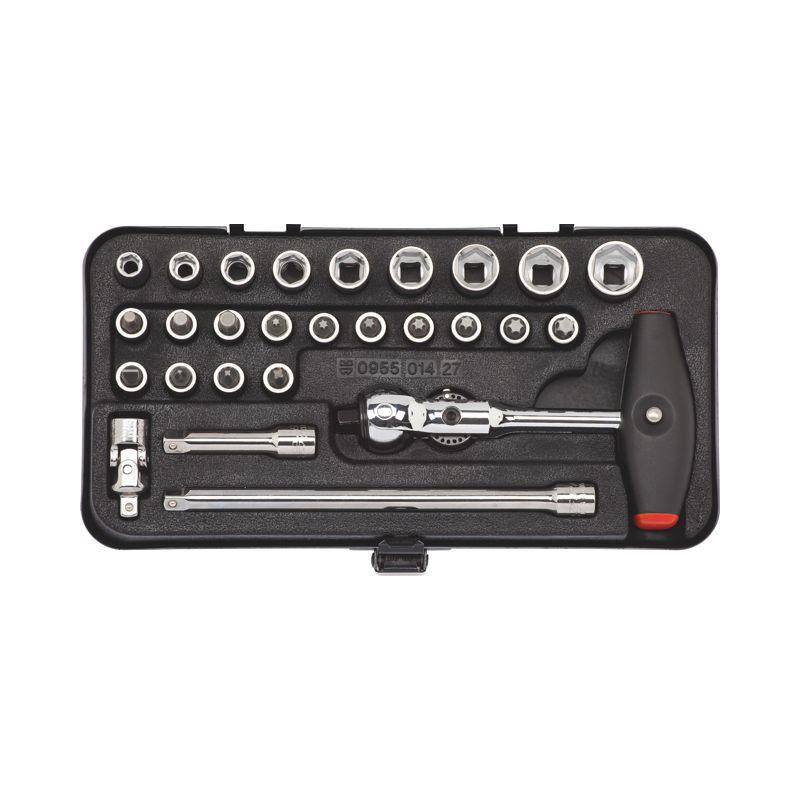 """Sada nástrčných klíčů 1/4"""" - 0"""