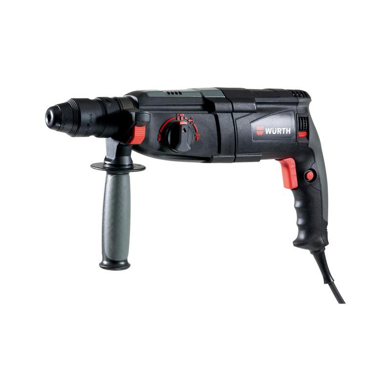 Bohrhammer H 28-MLS Power Sehr leistungsstarker Bohrhammer mit aktiver Vibrationsdämpfung und Wechselbohrfutter. Dadurch ideal für Serienbohrungen geeignet.