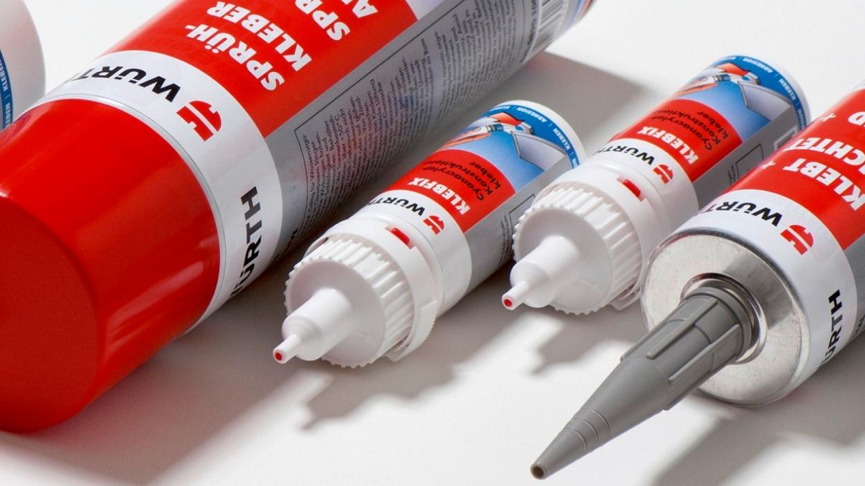 Titelbild Klebstoff Produktfinder
