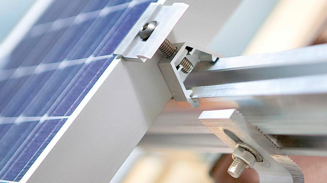 Titelbild Solarbefestigungssystem