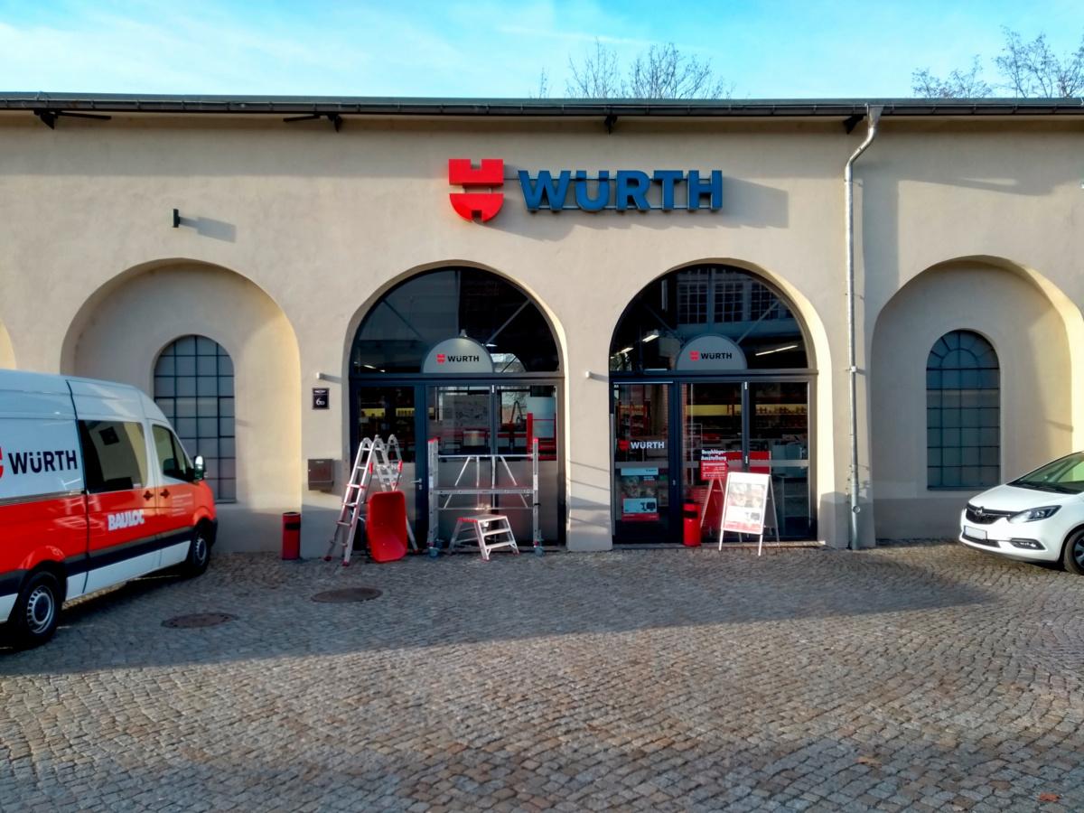 Würth Niederlassung Dresden-Albertstadt