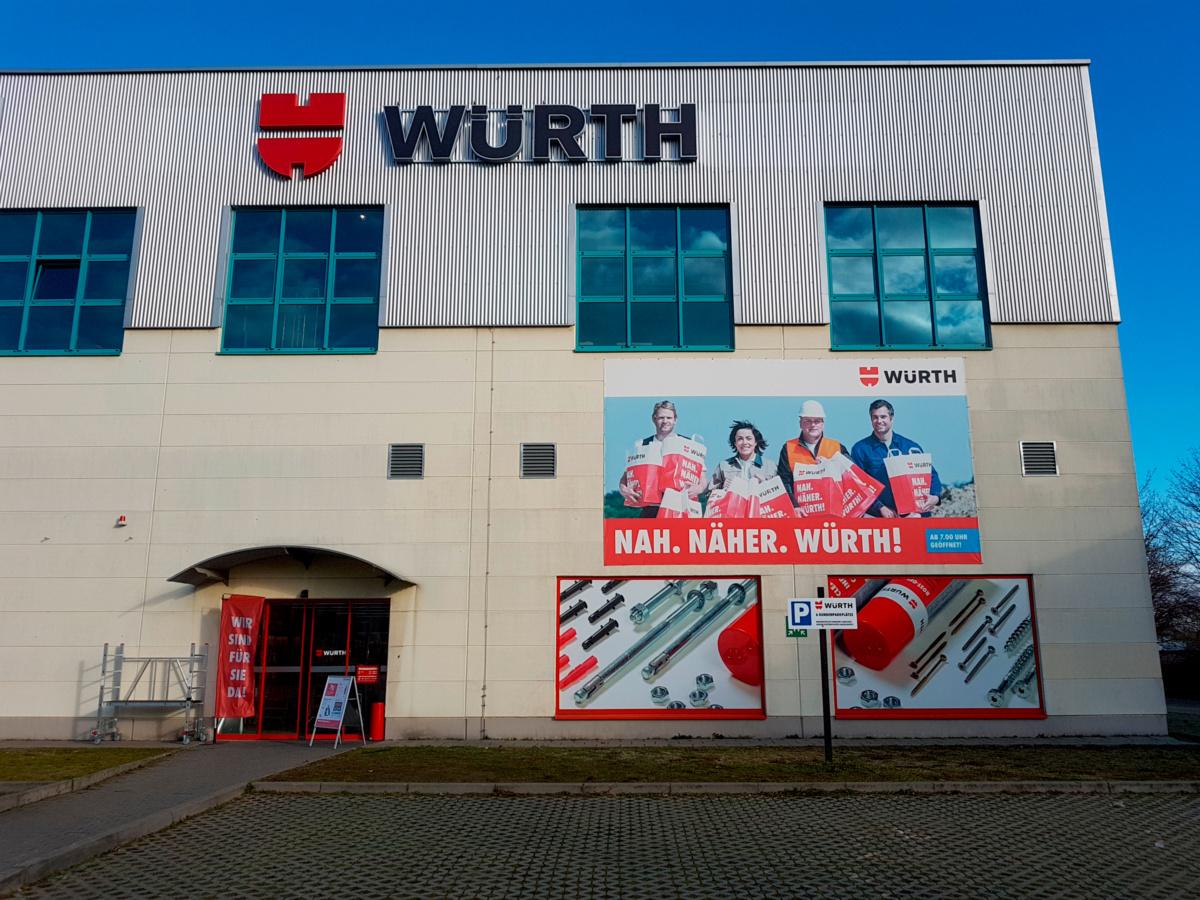 Würth Niederlassung Halle