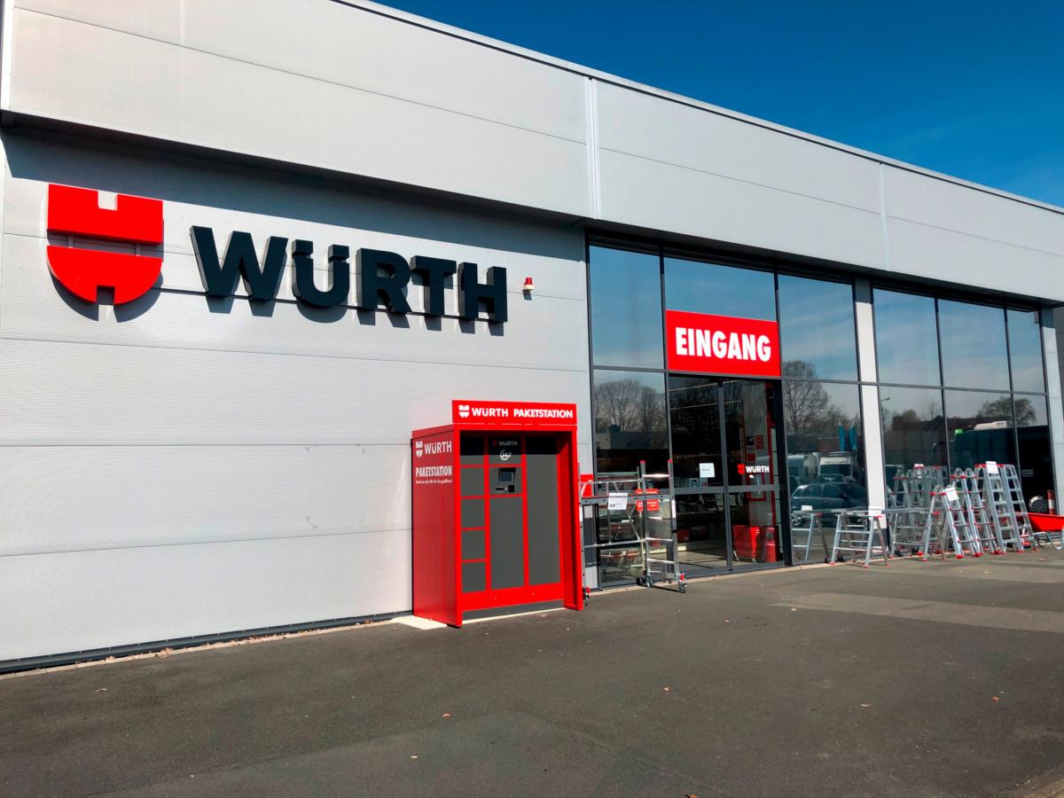 Würth Niederlassung Gütersloh
