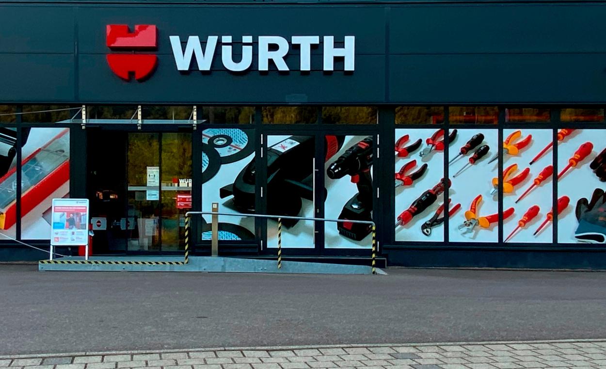 Würth Niederlassung Saarbrücken-Güdingen