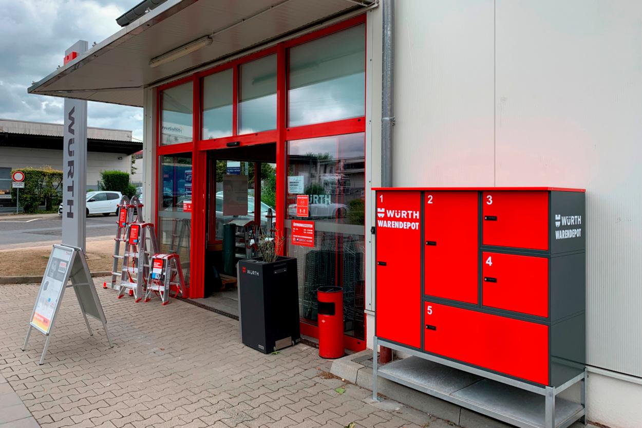 Würth Niederlassung Mainz-Hechtsheim