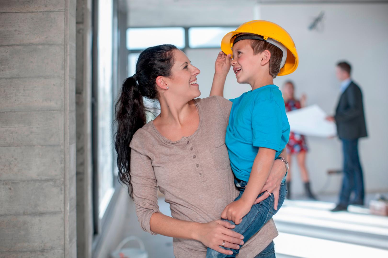 Titelbild Wohngesund bauen: Was es bringt und worauf Bauherren achten sollten