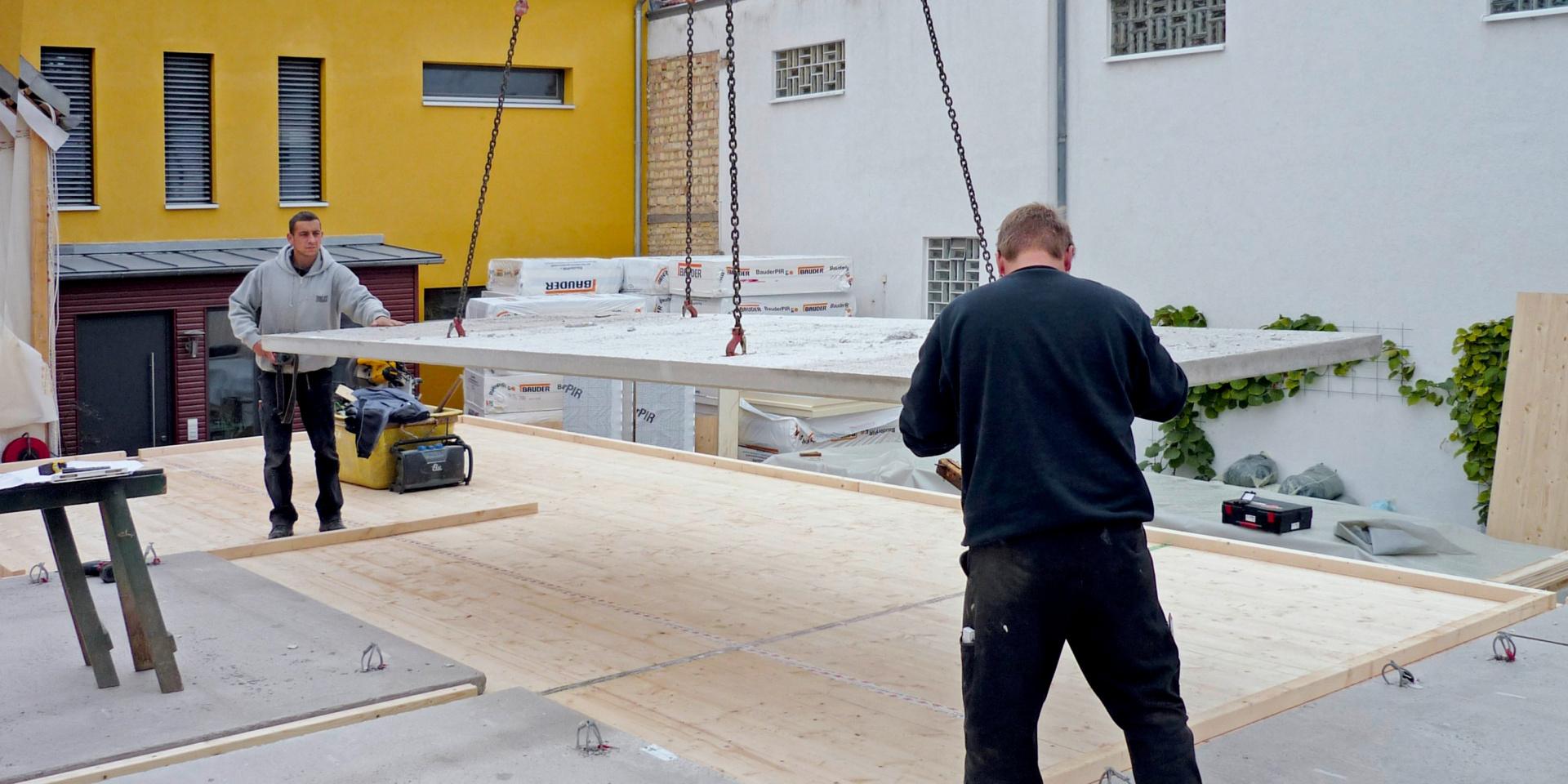 Titelbild Holz-Beton-Verbunddecken mit FT-Verbindern: Profi-Tipps für die Montage