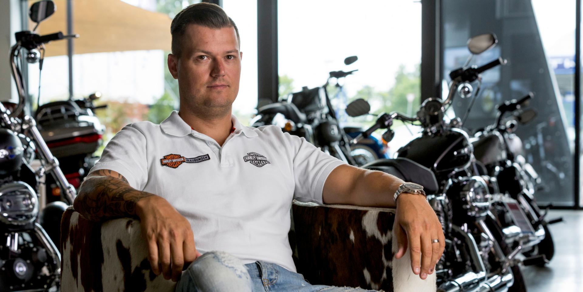 Titelbild Mythos Harley Davidson