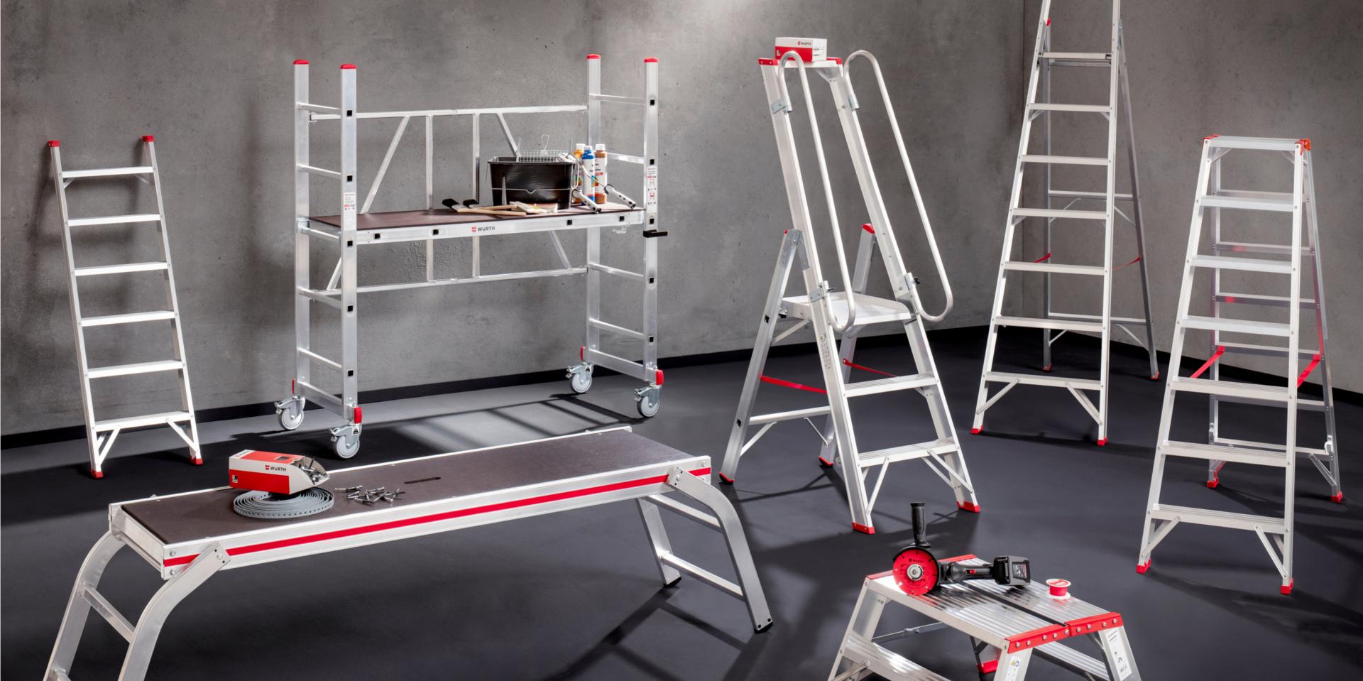 Titelbild Stufen statt Sprossen: Neuerungen in der TRBS 2121-2