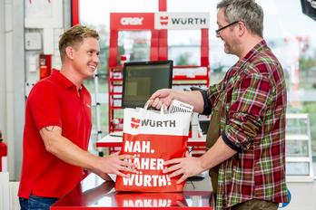 Würth Niederlassung Einkaufen Rund um die Uhr Werkzeug Zufriedenheit Versprechen