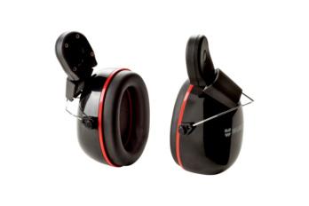 Gehörschutzkapsel passend zum Schutzhelm SH 2000-S die Gehörschutzkapsel. Der Gehörschutz lässt sich nur in Kombination mit einem Visier am Helm befestigen.