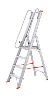 Leichte Plattformleiter 4 Stufen
