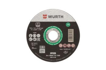 ZEBRA Trennscheibe Speed plus für Edelstahl Durchmesser x Stärke: 115 x 1 mm.