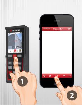 Bluetoothübertragung