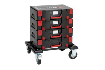 Einsatz mit großen System-Koffern