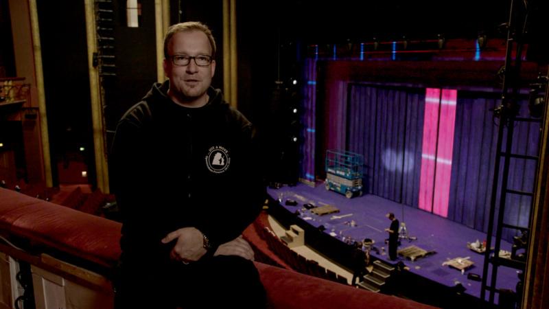 Bennjamin Neuen, technischer Produktionsleiter bei Stage Entertainment