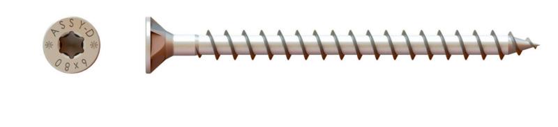 Dübelschraube ASSY®-D mit Senkkopf