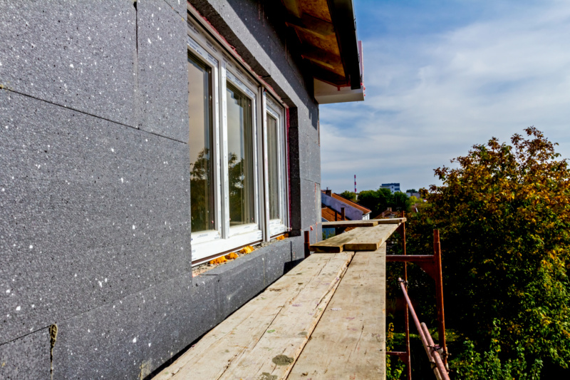 Fassadenausbau