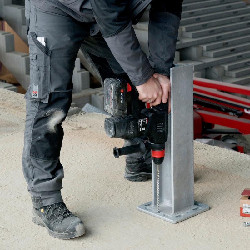 Magazin Teaser Schön & sicher: Das bringen Betonschrauben im Metallbau
