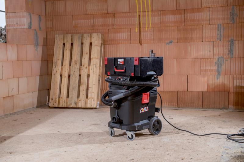 Industrie-Nass- und Trockensauger ISS 45-M automat, Anwendung