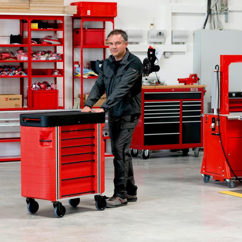 Magazin Teaser Neu in der ORSY® Welt: Der Werkstattwagen mit System-Anschluss