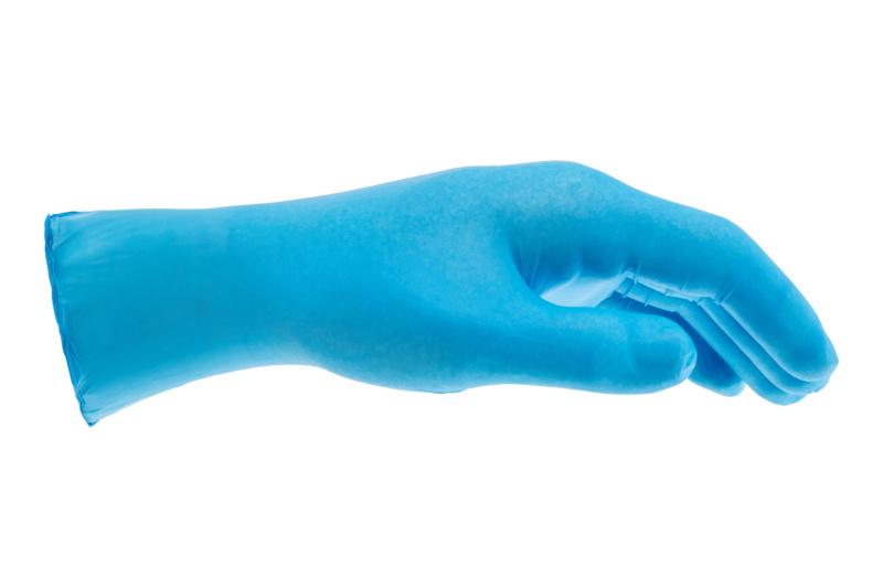 Disposable protective gloves